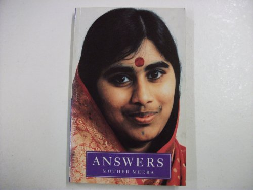 9780712653725: Answers (Mother Meera)