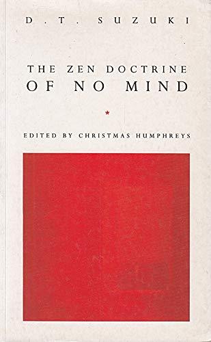 9780712653787: The Zen Doctrine Of No Mind