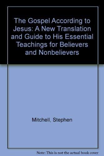 9780712653893: The Gospel According to Jesus