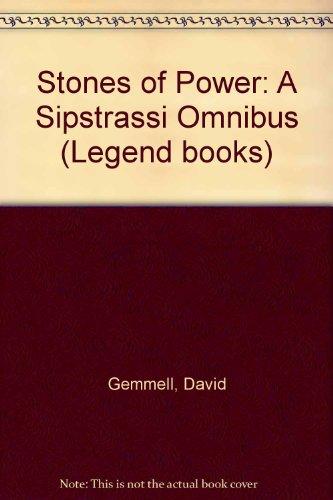 9780712654418 Stones Of Power A Sipstrassi Omnibus Legend Books