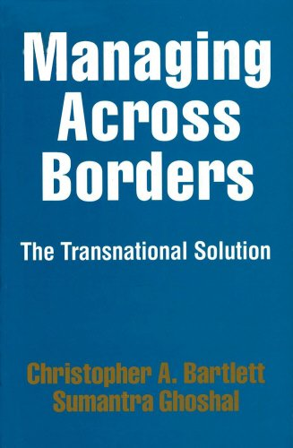 9780712655446: Managing Across Borders: The Transnational Solution