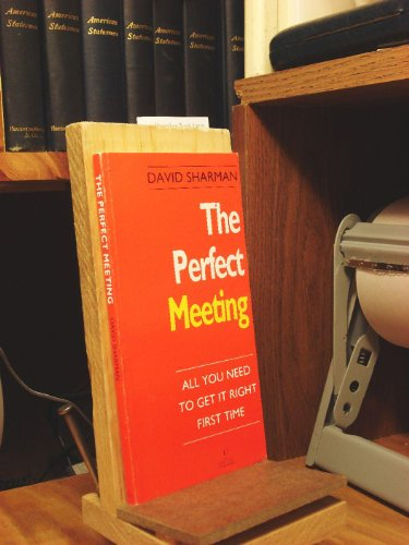 9780712655934: The Perfect Meeting: All You Need to Get it Right First Time