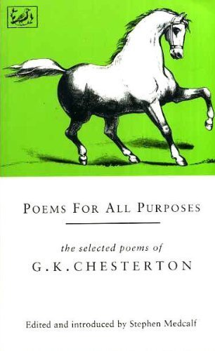 9780712658812: Poems for All Purposes: The Selected poems of G.K. Chesterton