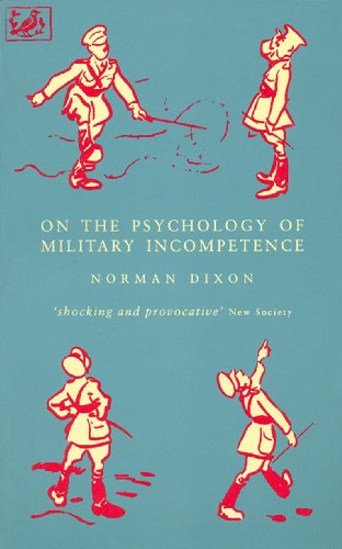 9780712658898: On The Psychology Of Military Incompetence (Pimlico)