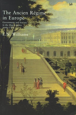 9780712659345: The Ancien Regime: Government and Society in the Major States 1648-1789