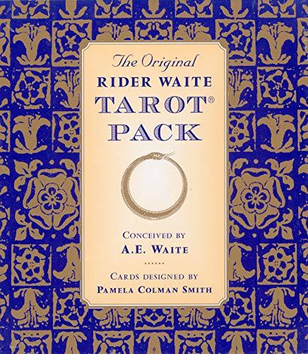 Original Rider Waite Tarot Pack: Waite, Arthur Edward