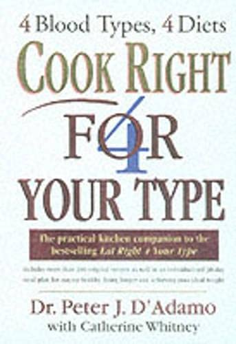 9780712673211: Cook Right 4 Your Type