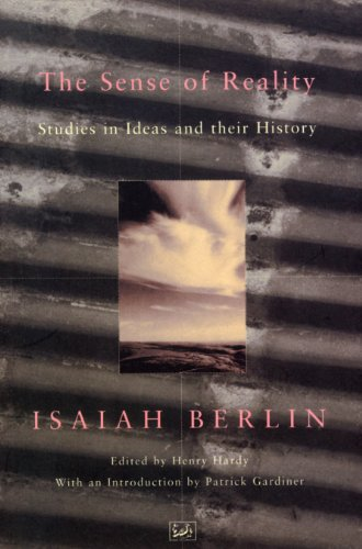 9780712673679: The Sense Of Reality: Studies in Ideas and their History