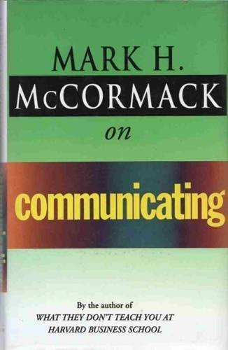 9780712675031: McCormack on Communicating (McCormack business)