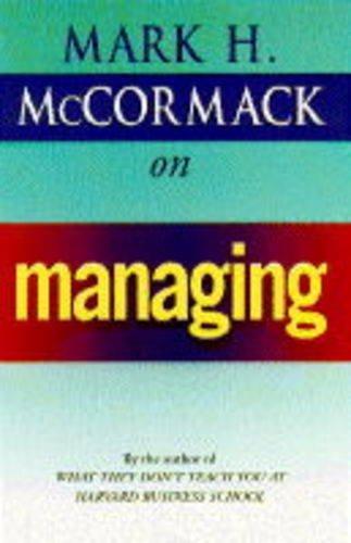 9780712675925: McCormack on Managing
