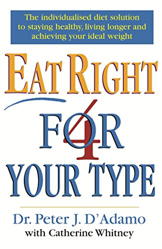 9780712677165: Eat Right 4 Your Type