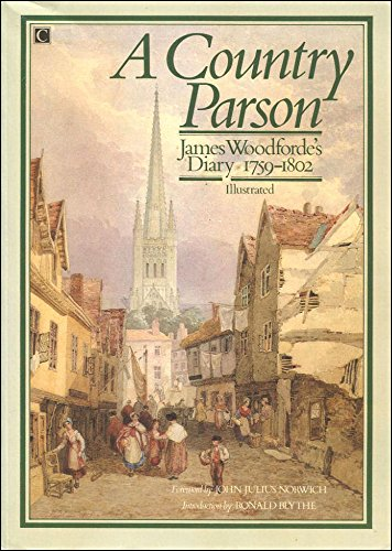 9780712695855: Diary of a Country Parson, 1758-1802