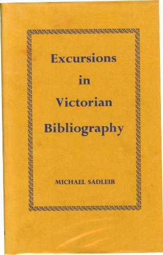 9780712906043: Excursions in Victorian Bibliography