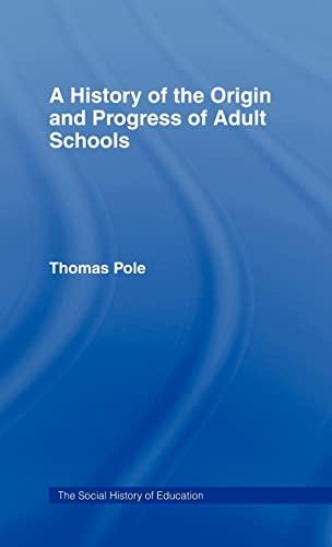 9780713000092: History of the Origin and P Cb: Hist Origin Adult School (Social History of Education)