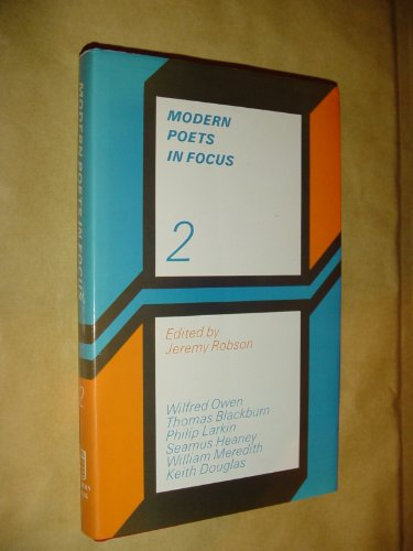 Modern Poets in Focus (2): Robson Jeremy (editor)