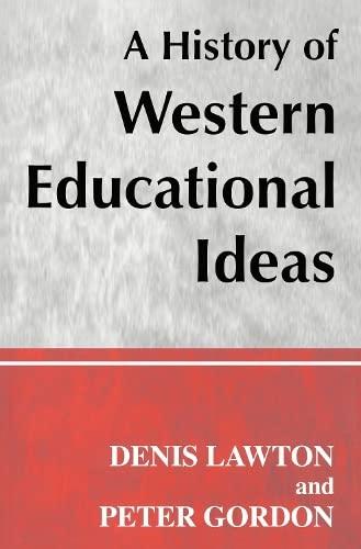 9780713002195: A History of Western Educational Ideas (Woburn Education Series)