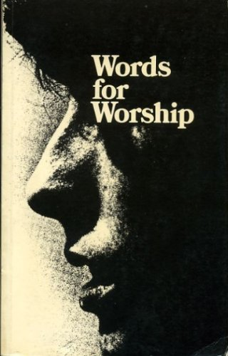 9780713101485: Words for Worship