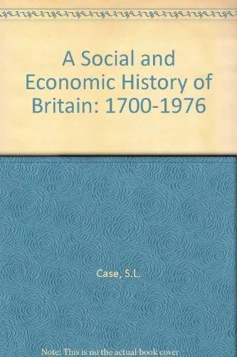 A Social and Economic History of Britain: Hall, David John,