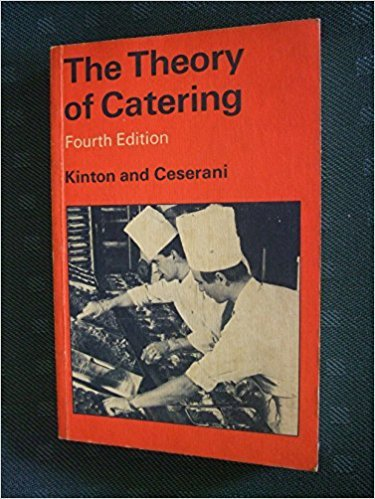 9780713102703: Theory of Catering
