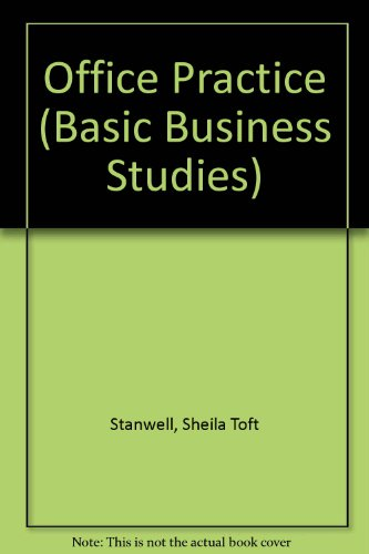 9780713114393: Office Practice (Basic Business Studies)
