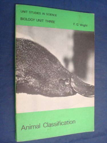 9780713115512: Biology: Animal Classification Unit 3 (Unit Study in Science)