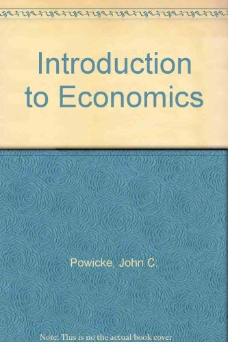 9780713115628: Introduction to Economics