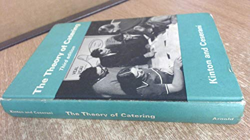9780713117813: Theory of Catering