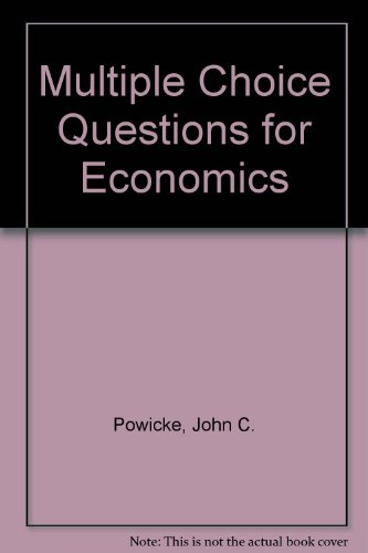 9780713117837: Multiple Choice Questions for Economics