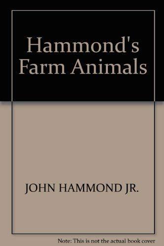 9780713123227: Hammond's farm animals