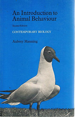 an introduction to animal behaviour manning aubrey stamp dawkins marian