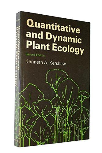 9780713124163: Quantitative and Dynamic Plant Ecology