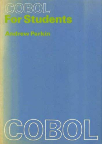9780713125252: Cobol for Students
