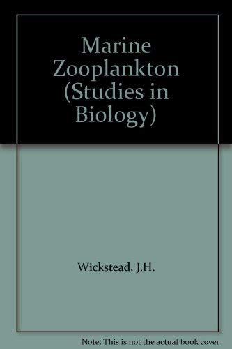 9780713125498: Marine Zooplankton (Studies in Biology)
