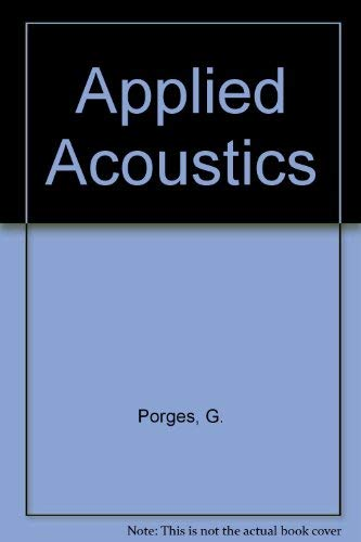 9780713126587: Applied Acoustics