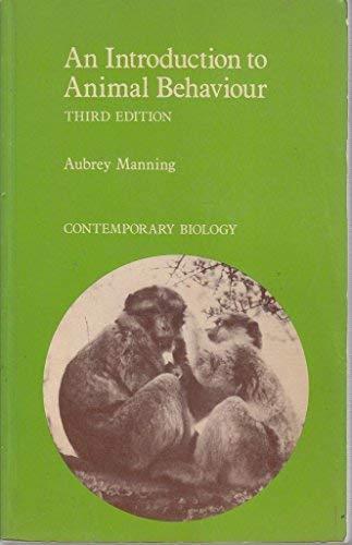 9780713127270: An Introduction to Animal Behaviour