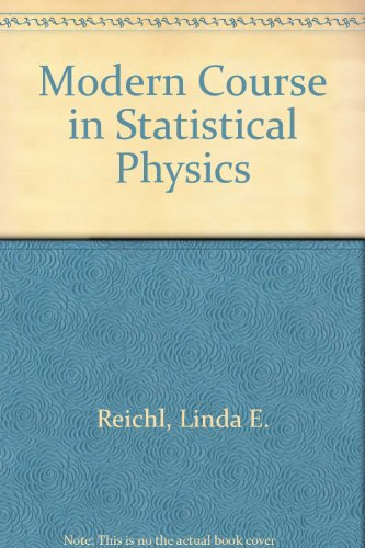9780713127775: Modern Course in Statistical Physics