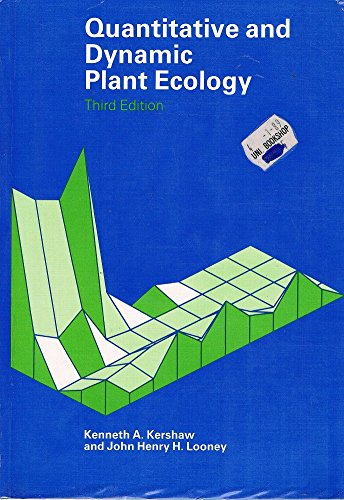 9780713129083: Quantitative and Dynamic Plant Ecology