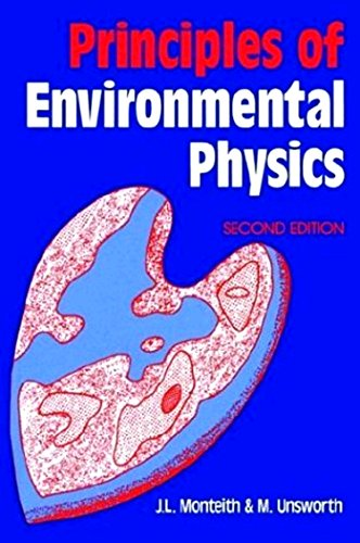 Principles of Environmental Physics, Second Edition: John Monteith, Mike