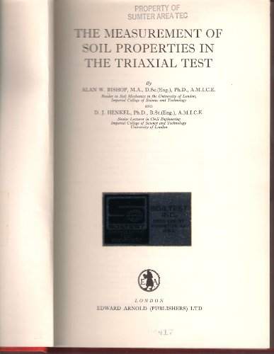 9780713130041: Measurement of Soil Properties in the Triaxial Test
