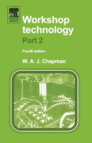 Workshop Technology Part 2: Pt.2: Chapman, W.