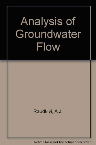 9780713133592: Analysis of Groundwater Flow