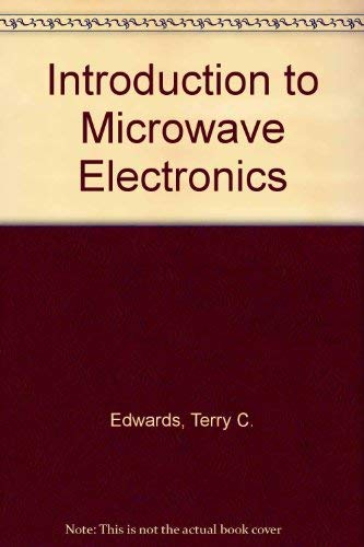9780713134957: Introduction to Microwave Electronics