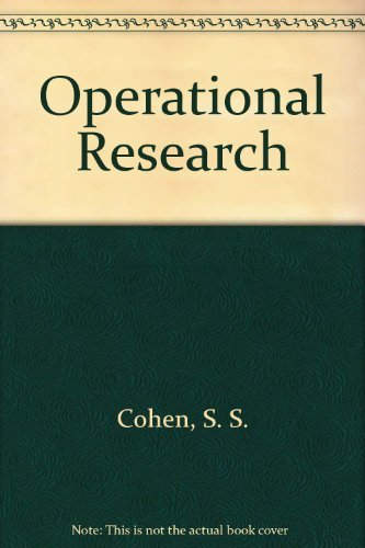 9780713135282: Operational Research