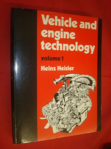 9780713135428: 001: Vehicle and Engine Technology