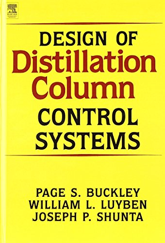 9780713135510: Design of Distillation Column Control Systems