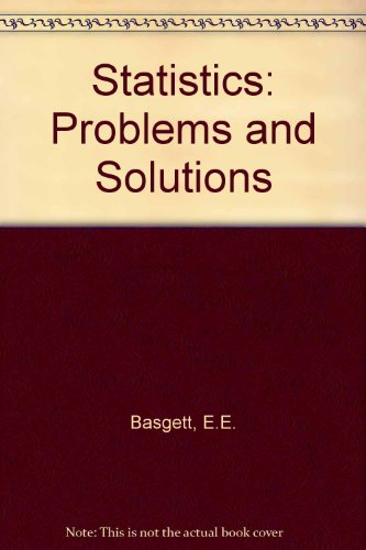 9780713135688: Statistics: Problems and Solutions