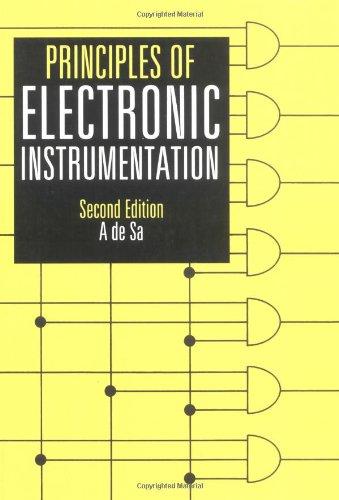 Principles of Electronic Instrumentation: de Sa, A.