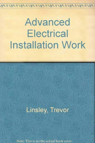9780713136517: Advanced Electrical Installation Work