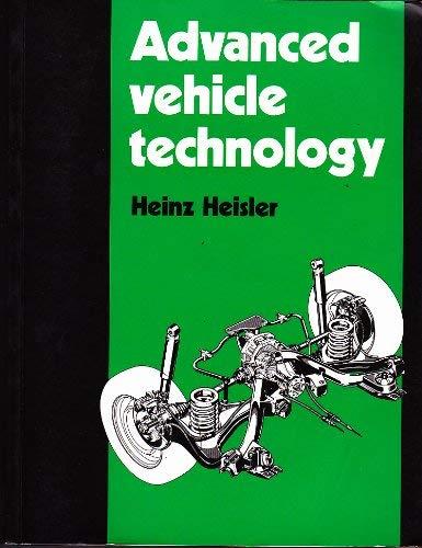 9780713136609: Advanced Vehicle Technology
