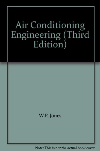 9780713136647: Air Conditioning Engineering (Third Edition)